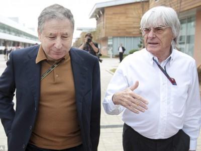 Президент FIA Жан Тодт и босс Формулы-1 Берни Экклстоун