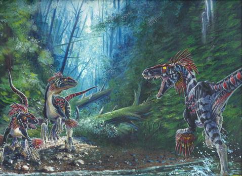 Первые древние животные появились на территории нынешней Сибири