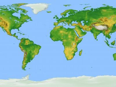 Оксфордский университет составил новую карту мира