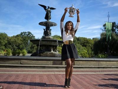 Серена Уильямс собирается поднять свою игру на новый уровень