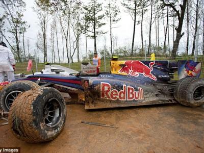 Гран-при Кореи, Марк Уэббер разбил свой болид, 2010 год