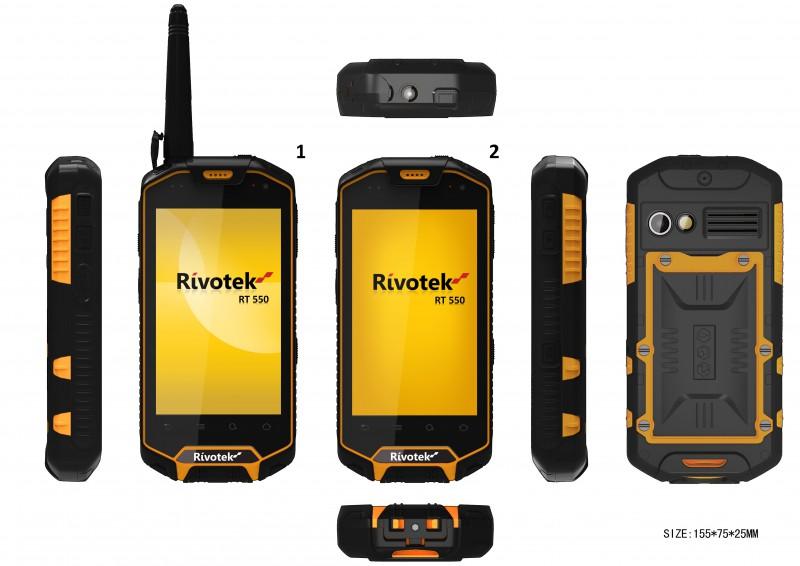 Суперзащищенный смартфон Rivotek RT-550