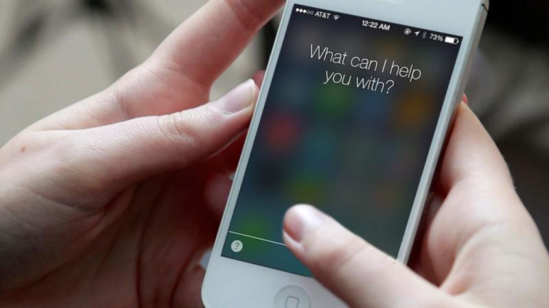 Первоначальный голос Siri