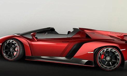 Veneno Roadster – новое детище Lamborghini