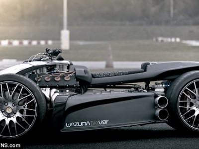 Wazuma V8F – квадроцикл с двигателем Ferrari