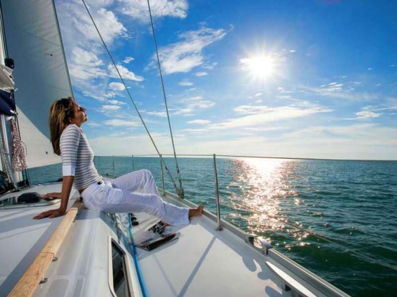 Путешествуем на яхте