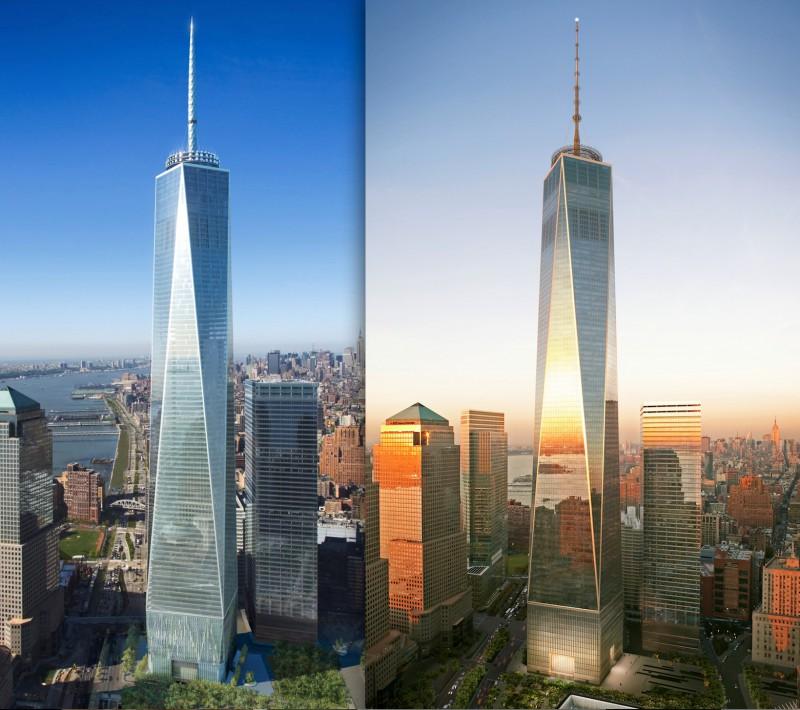 Башни-близнецы заменил самый высокий небоскреб США