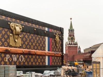 Конструкция модного дома Louis Vuitton