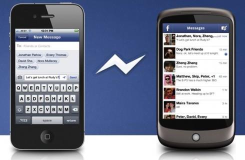 Facebook конкурирует с WhatsApp
