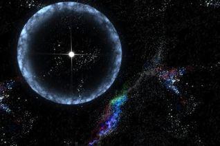 Вселенную озарила вспышка века