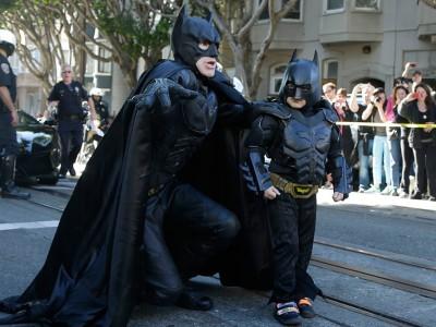 Бэткид и Бэтмен