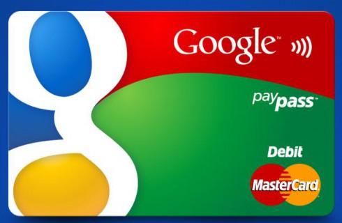 Собственная дебетовая карта Google