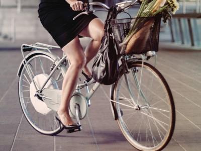 Велосипед с «умным колесом»