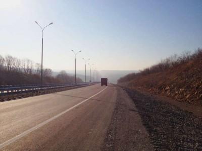 Новый участок дороги Уссури