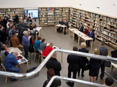Открытие Центральной городской библиотеки Выборга