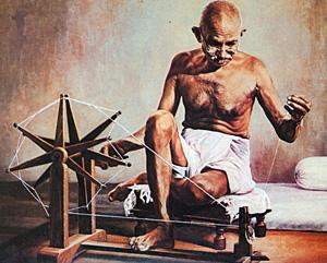 На аукционе нашли владельца прялки Ганди