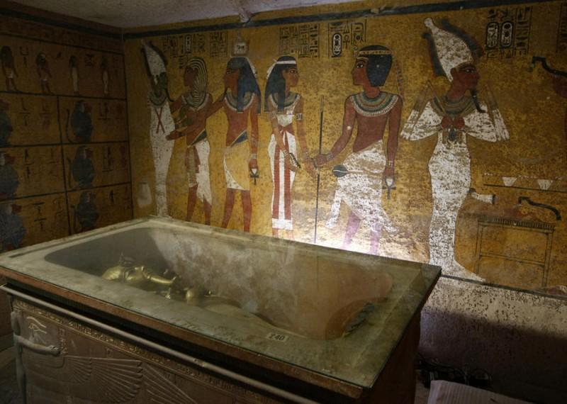 Египтяне мумифицировали мясо
