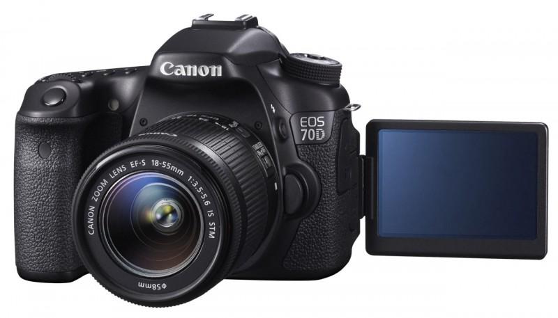 Обзор фотокамеры Canon EOS 70D