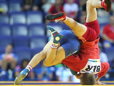 Самбисты России завоевали 15 золотых медалей на чемпионате мира