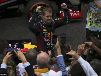 Себастьян Феттель вновь победил в Формуле 1