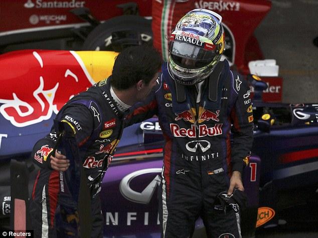 Себастьян Феттель побеждает на Гран-при Бразилии
