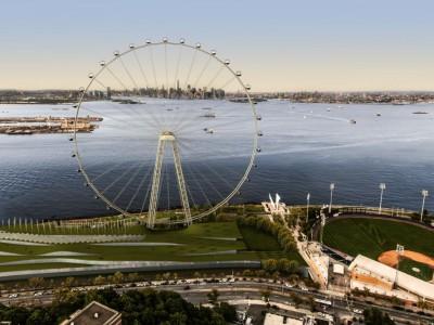 Проект колеса обозрения в Нью-Йорке