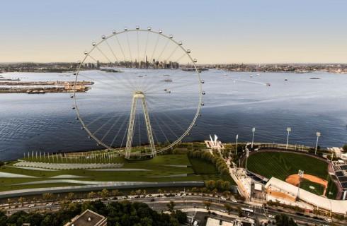 Возможность увидеть Нью-Йорк с самого высокого колеса обозрения мира