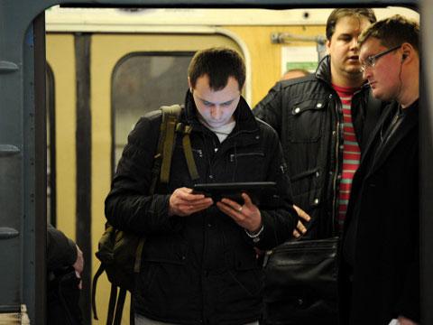 Бесплатный Wi-Fi в метро Москвы: первые итоги