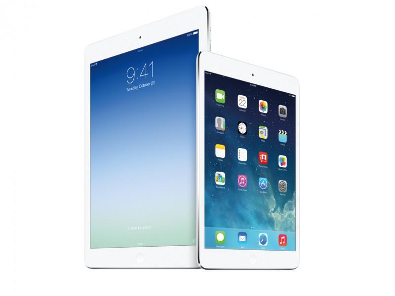 Новые «яблочные» устройства iPad Air и iPad mini с дисплеем Retina