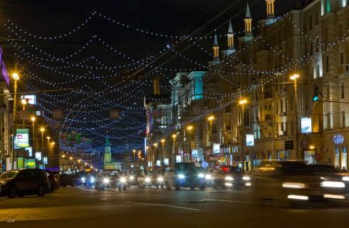 Москва ждет гостей на Новый год