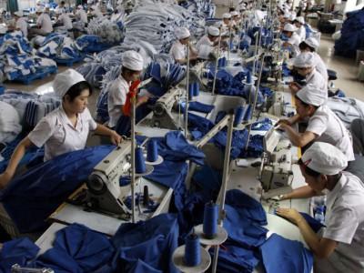 На китайской фабрике