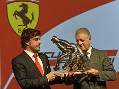 Фернандо Алонсо планирует заполучить в сои руки премиальные, которые им пообещали боссы Ferrari