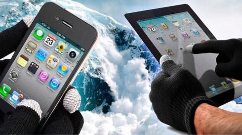 Как уберечь смартфон от холода