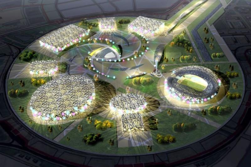 Строительство Олимпийских объектов