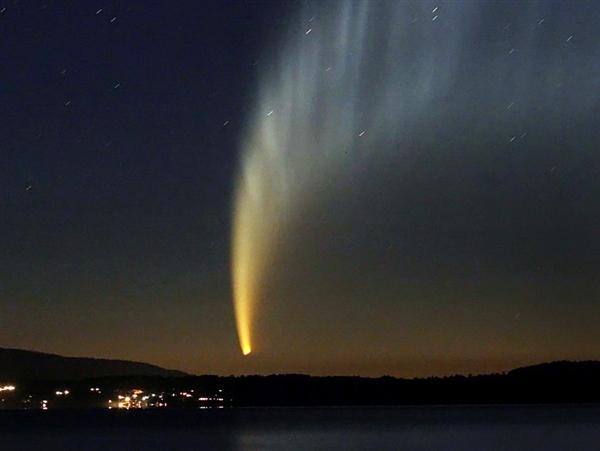 Рекорд кометы-феникса ISON