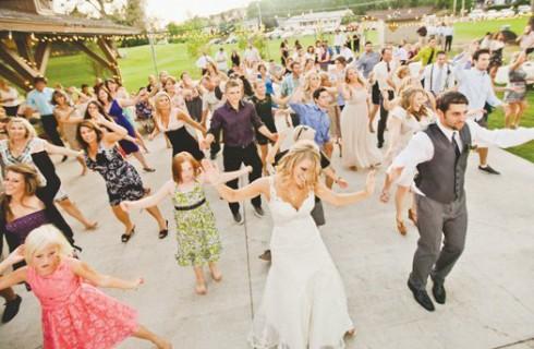 Приглашение на свадьбу в виде флэшмоба