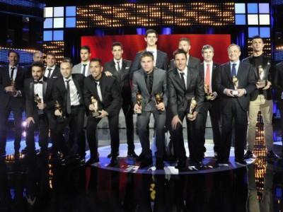 Лучшие игроки чемпионата Испании 2012/2013 года