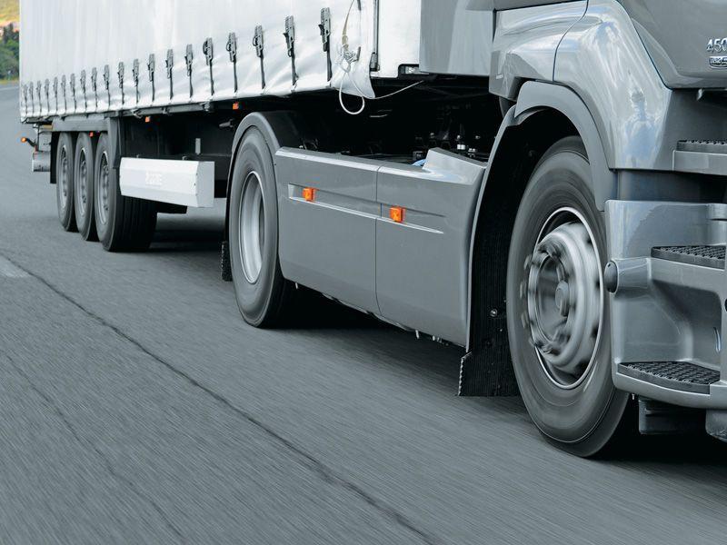 Продление срока службы шин грузовиков