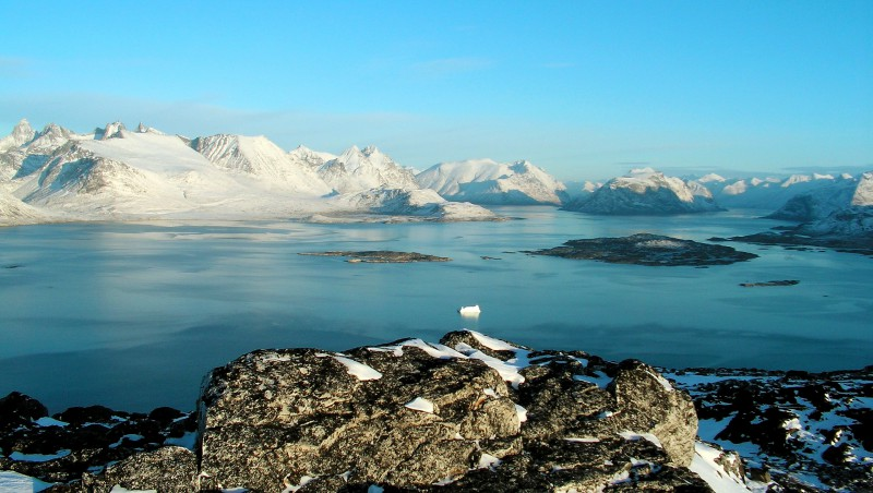 Пресную воду нашли в Гренландии
