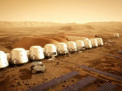 На Марсе будет жить 200 тысяч человек