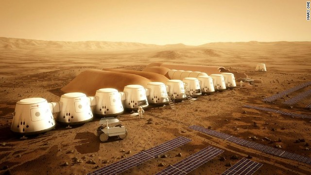 На Марсе будут жить 200 тысяч человек
