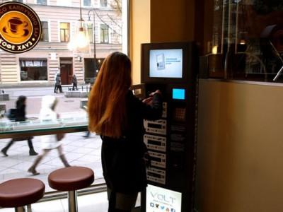 В Санкт-Петербурге появятся автоматы для подзарядки гаджетов