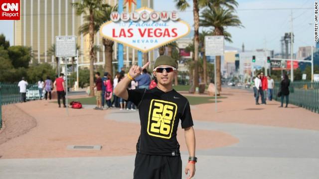 Американец пробежал 26 марафонов за 26 дней