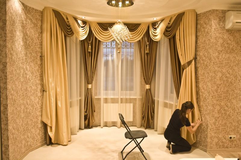 Как шторы влияют на дизайн интерьера вашей квартиры?
