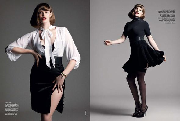 Пухлая тенденция в современной моде