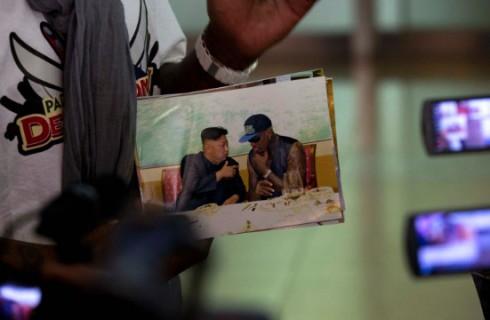 Деннис Родман посетил Северную Корею