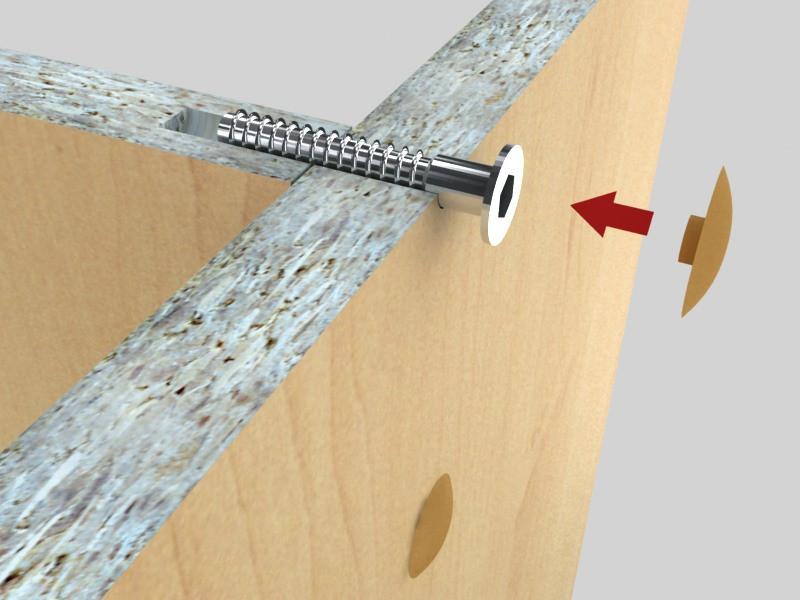Furnitarium предлагает стяжки: евровинт, кроватные и межсекционные