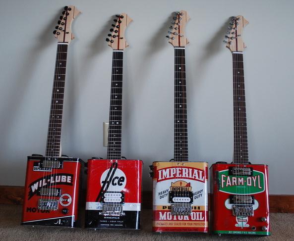 Уникальные гитары производят в Южной Африке