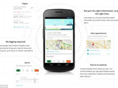 Google-приложения предугадывают действия пользователя