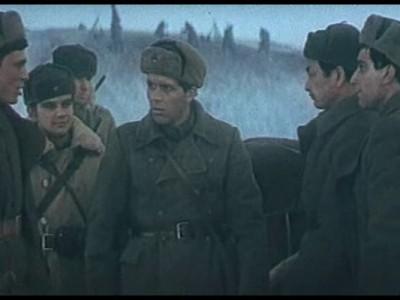 "Кадр из фильма ""Горячий снег"""